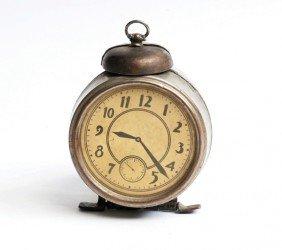 Houdini's Flight Of Time Alarm Clock. NY Ca 1924