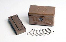 Key Box. Leiden Holland, Anverdi, Ca. 1970.