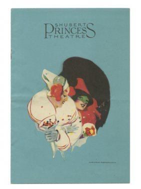 Houdini, Harry. Shubert Princess Theatre Program