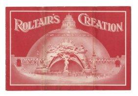 Henry Roltair�s Creation Exhibition Ephemera