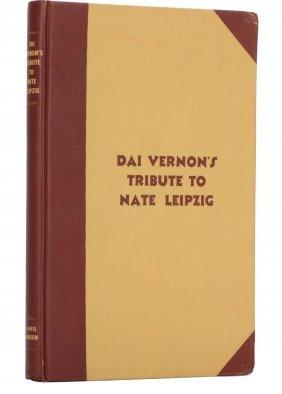 Ganson, Lewis. Dai Vernon's Tribute To Nate Leipzig.