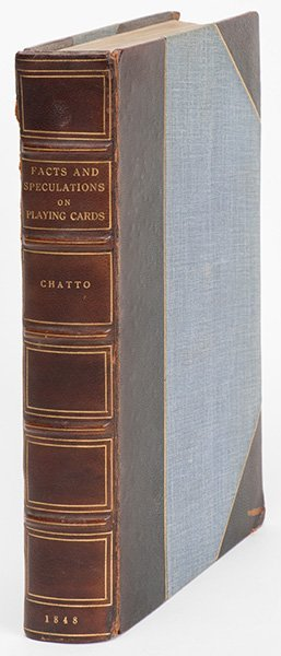 Chatto, William Andrew. Facts And Speculations On The