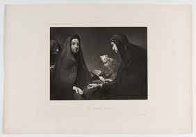 Group Of Six Fortune-telling Prints. Various Printers,