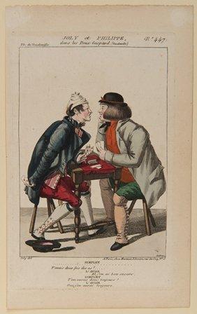 Joly. Joly Et Philippe Dans Les Deux Gaspard. Paris,
