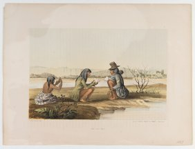 """Two Prints Of Native Americans. Including """"co-co-pas"""""""