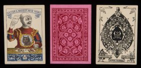 Victor E. Mauger Euchre Playing Cards. New York: Victor