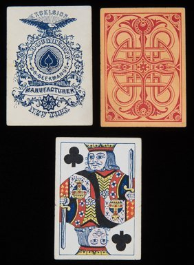 Andrew Dougherty Excelsior Playing Cards. Andrew