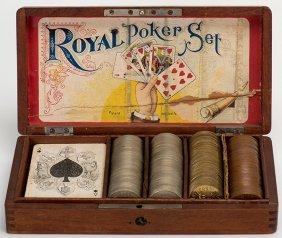 Royal Poker Set. Detroit: Brown Brothers, Ca. 1900.