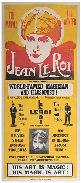 Le Roi, Jean. The Marvel. The Wonder. Jean Le Roi.