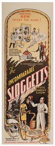 Sloggett, Charles. The Incomparable Sloggetts.