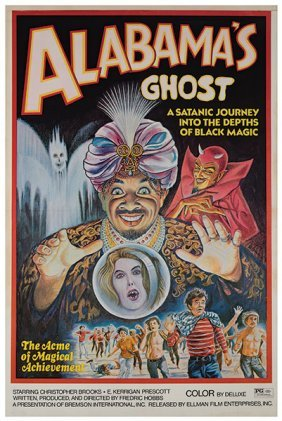 Alabama's Ghost. American, 1973. One-sheet Poster