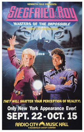 Siegfried & Roy Masters Of The Impossible. [new York?],