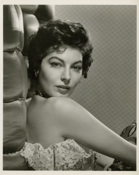Ava Gardner Key-set Photos From Mogambo By Virgil A