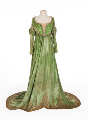 Mary Pickford Gown With Bodice The Taming Of The Shrew