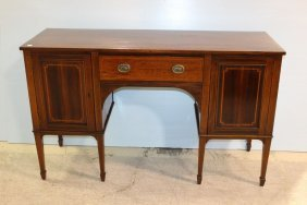 Mahogany Inlaid Sideboard