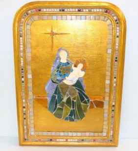 Mildred Wolfe Mosaic Of Madonna And Child