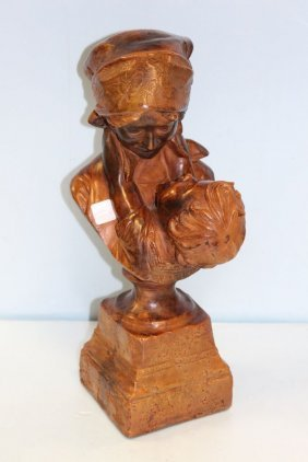 Basco Mother And Child Sculpture