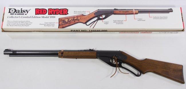 Daisy Limited Edition Model 1938 Red Ryder BB Gun : Lot 817