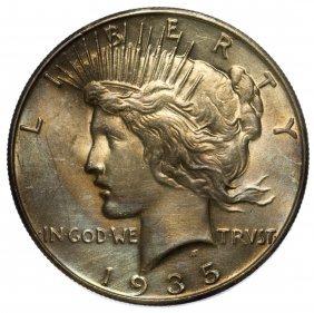 1935 $1 Unc