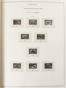 Us Postage Stamp Album Assortment