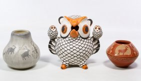 Southwest Style Pottery Assortment