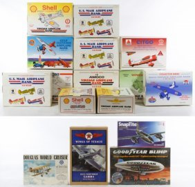 Die Cast Airline Bank And Model Kit Assortment