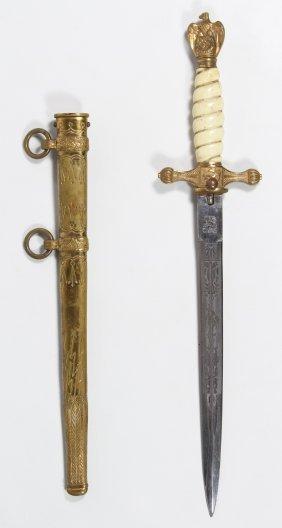 World War Ii German Kreigsmarine Naval Dagger And