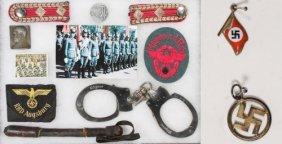 World War Ii German Patch And Token Assortment