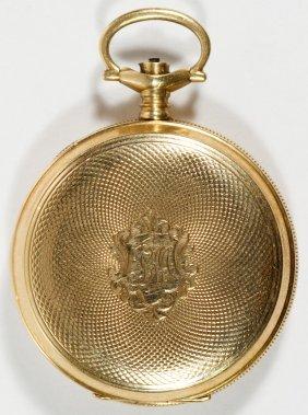 Waltham 14k Gold Hunter Case Pocket Watch