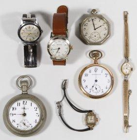 Pocket And Wrist Watch Assortment