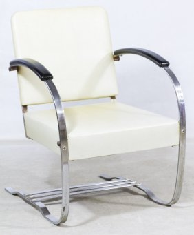 Art Deco Springer Chair Designed By Wolfgang Hoffman