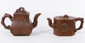 (after Bottger) Chinese Yixing Ware Teapots