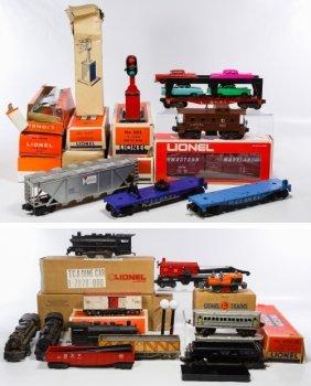 Lionel Model Toy Train Car Assortment