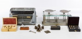 Torsion Balance Co. Scale And Weight Assortment