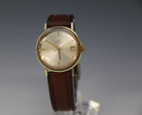 Hamilton 14k Gold Men's Wrist Watch