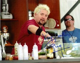 Guy Fieri Autographed Photo