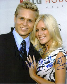 Heidi Montag & Spencer Pratt Autographed Photo