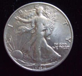 Walking Liberty 1942
