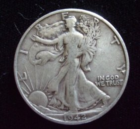 Walking Liberty 1942-D