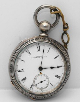 Illinois Springfield Pocket Watch - Key Wind