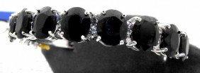$27K Full Appraisal Sapphire Bracelet