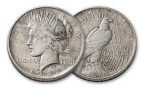1921 Peace SIlver Dollar - 1st Year KEY Date