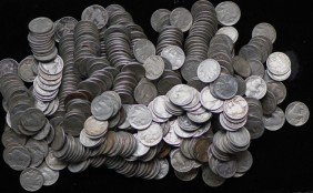 Lot Of 200 Buffalo Nickels