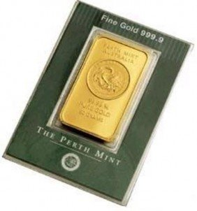 1oz Gold Perth Ingot