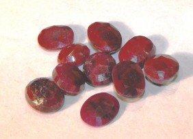 64.65 Tcw Ruby Gemstone Parcel