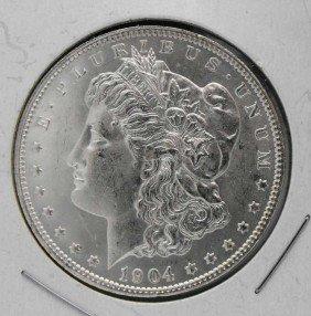 1904 O Gem BU Morgan SIlver Dollar