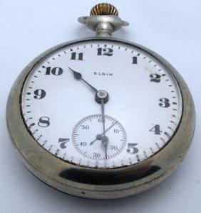 Elgin Working Pocket Watch - Serial # 21024771