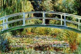 Le Pont Japonais A Giverny  By Claude Monet Art Pri