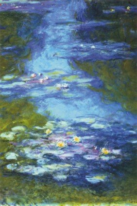 Water Lilies  By Claude Monet Art Print 24 X 36 In