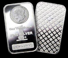 1 Oz Morgan Silver Bullion- (1 Bar)